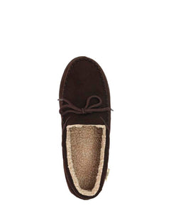 Men's Moc Slipper - Chocolate