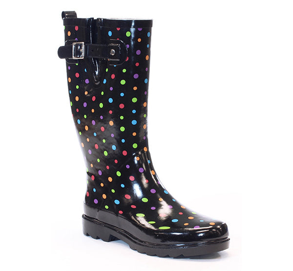 Women's Ditsy Dot Rain Boot - Multi