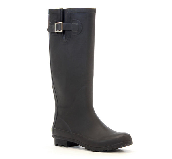 Womens Classic 2 Tall Rain Boot - Black Matte - Western Chief