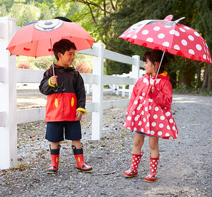 Kids Minnie Mouse Rain Boots - Red - Western Chief