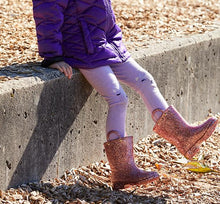 Kids' Glitter Rain Boots - Rose Gold - Western Chief