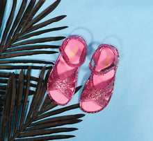 Kids' Sandbox Glitter Sandal - Rose Gold - Western Chief