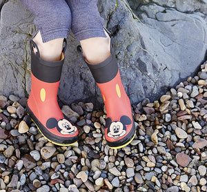 Kids' Mickey Mouse Rain Boots - Red - Western Chief
