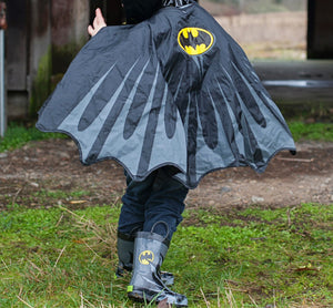 Kids Batman Rain Coat - Black - Western Chief