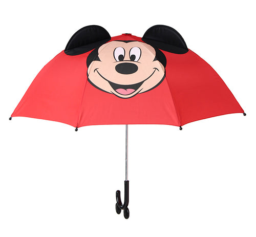 Kids' Mickey Mouse Umbrella - Red - Western Chief