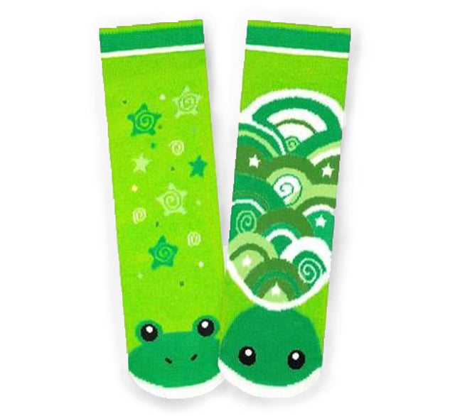 Frog & Turtle Pals Mismatched Socks - Toddler & Big Kids - Western Chief