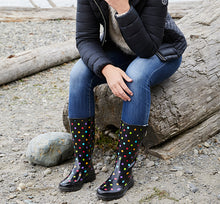 Women's Dot City Rain Boot - Black - Western Chief
