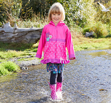 Kids Flower Cutie Rain Coat - Pink - Western Chief
