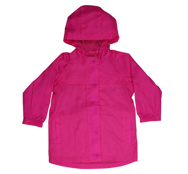 Kids' Solid Nylon Rain Coat - Pink - Western Chief