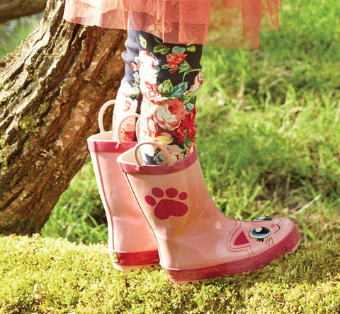 Kids' Pink Kitty - Pink - Western Chief