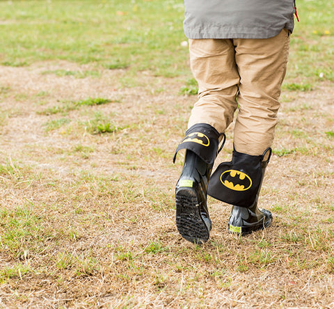 Kids' Batman Rain Boot - Black