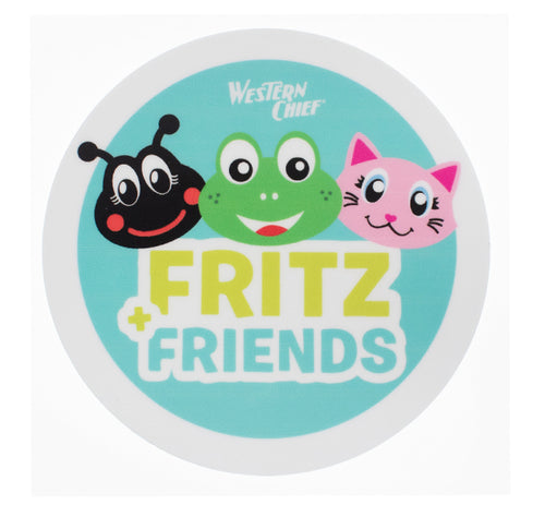 Fritz and Friends sticker