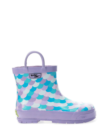 Kids Shorty Ankle Rain Boot - Lilac