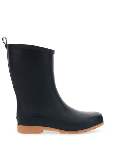 Women's Modern Mid Rain Boot - Black