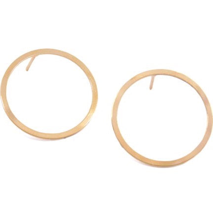 Boucles d'oreille Cercle d'Or
