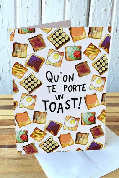 Carte - Qu'on Te Porte Un Toast