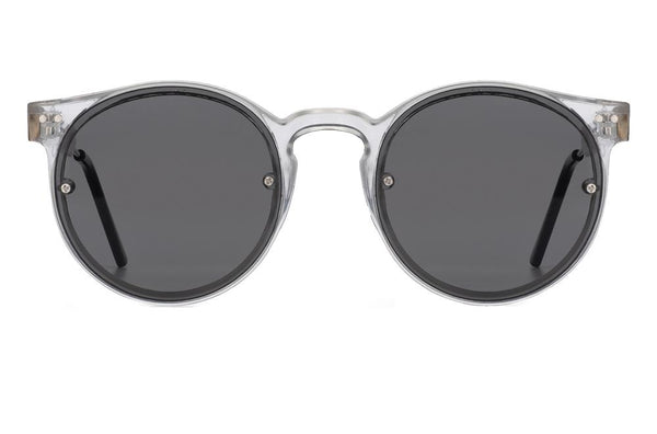 Lunettes Post Punk - clear / black