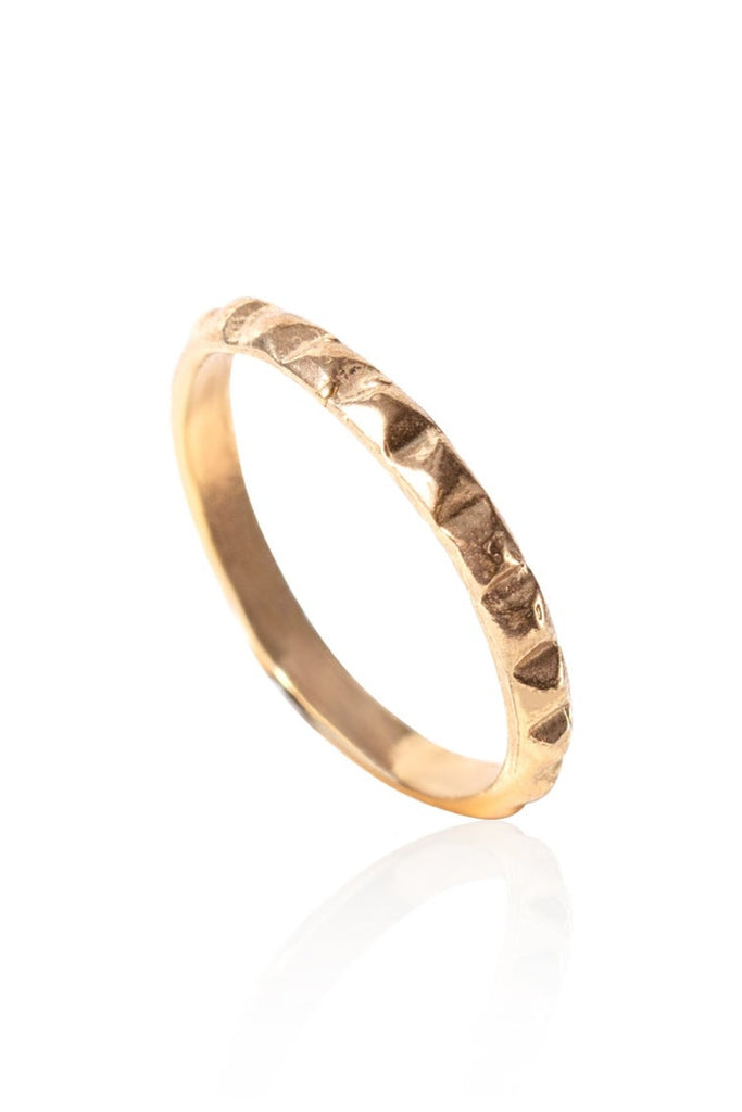 Bague Gold Spike
