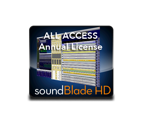 soundBlade All Access HD Annual Subscription