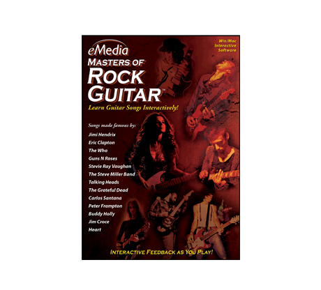 eMedia Masters of Rock Guitar - MAC
