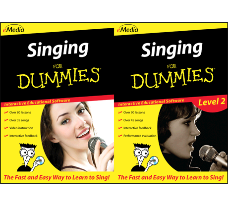 Singing For Dummies Deluxe - Windows