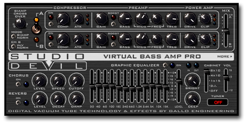 Flagship Bass Amp Modeling Plugin