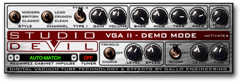 Guitar Amp Modeling Effects Plug-In