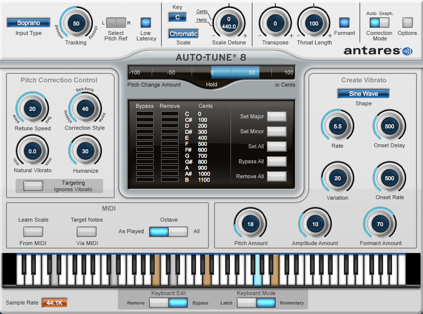 Auto-Tune Vocal Studio 8 Native