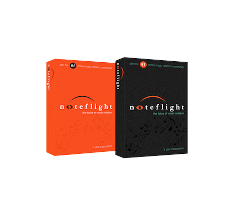 5-Year Subscription For Noteflight