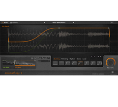 VolumeShaper 5 -Sidechain compression and sample-shaping