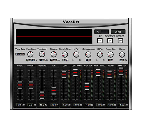 Comprehensive Vocal Processing Tool