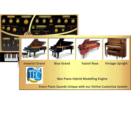 4 great piano collection