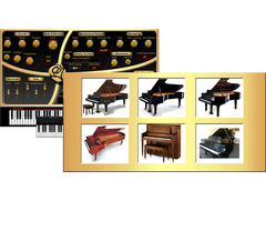 6 Great Pianos in 1!