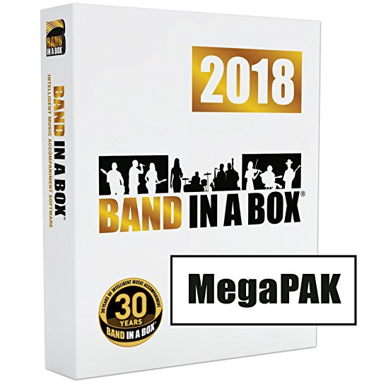 Band-in-a-Box 2018 MEGAPAK for MAC