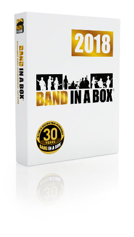 Band-in-a-Box Pro 2018 PRO - Macintosh Download
