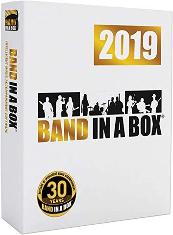 Band-in-a-Box® PRO 2019 - Windows / PC