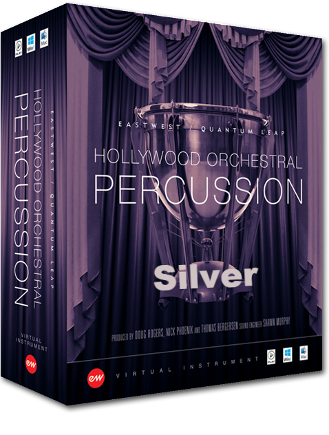 HOLLYWOOD ORCHESTRA PERCUSSION SILVER