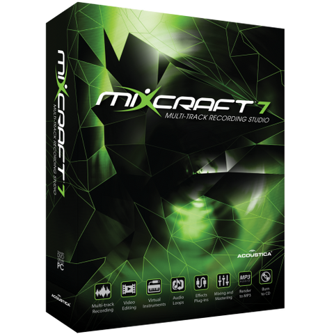 Mixcraft 7 Multi-Track Recording Studio Workstation
