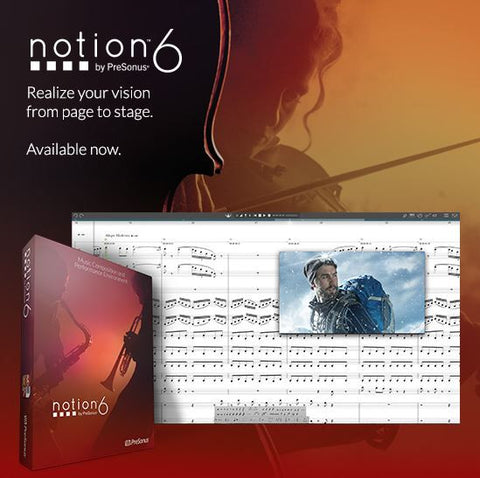 Notion 6 - Notation Software - Mac and Windows