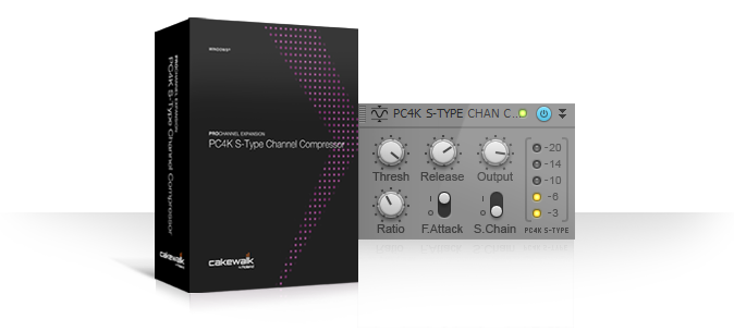 PC4K S-Type Channel Compressor Module