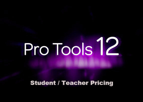 Pro Tools with Annual Upgrade and Support Plan - Student/Teacher