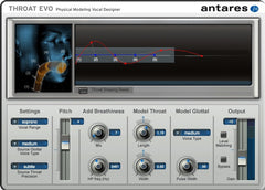 Throat Evo Vocal Designer Plug-In
