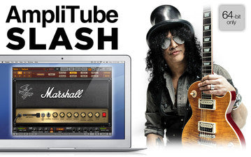 Amplitube Slash Guitar Amp Effects - Mac or PC