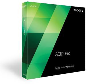 Acid Pro 7 Professional multitrack recording