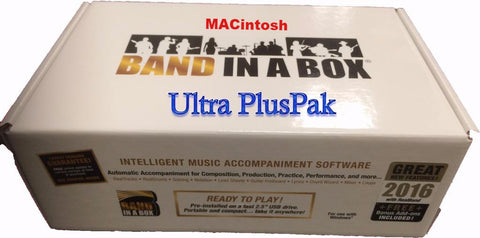 Band in a Box ultra plus pak Mac