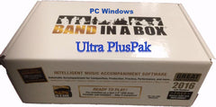 Band-in-a-Box 2018 UltraPlusPAK - Windows / PC