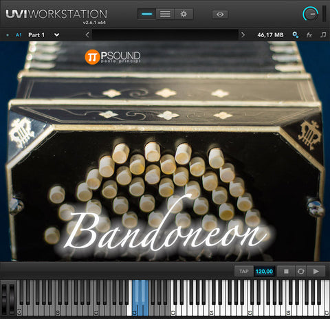 Bandoneon -  Historic reproduction by Paolo Principi