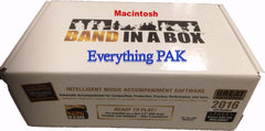 Band in a Box (BIAB) Everything Pak Mac