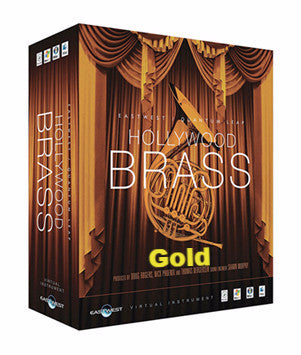 East West HOLLYWOOD BRASS GOLD