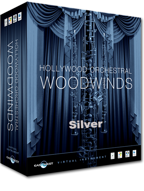 EastWest Hollywood Woodwinds Silver